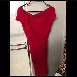 Size 8 Red Monique Lhuillier Dress